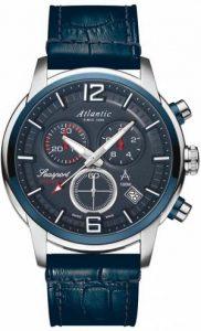 Zegarek Atlantic, 87461.47.55, Męski, Seasport Chronograph